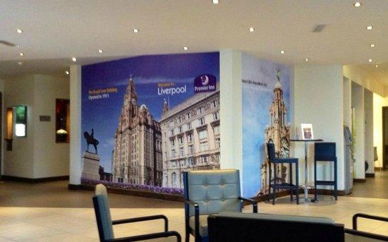 Premier Inn Liverpool City Centre (Liverpool One) Hotel: 2nd floor
