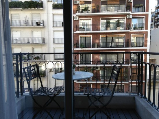 CasaSur Recoleta: View from balcony