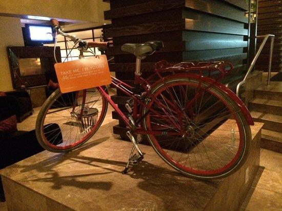 Kimpton Hotel Palomar Washington DC: Biciclette in prestito...tutto perfetto...!