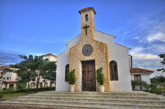 Cadaques Bayahibe: Hotel Church. Available for Weddings and Baptisms
