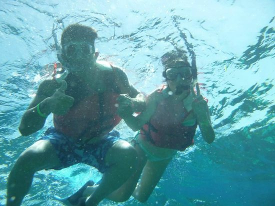 Little French Key: First time snorkeling