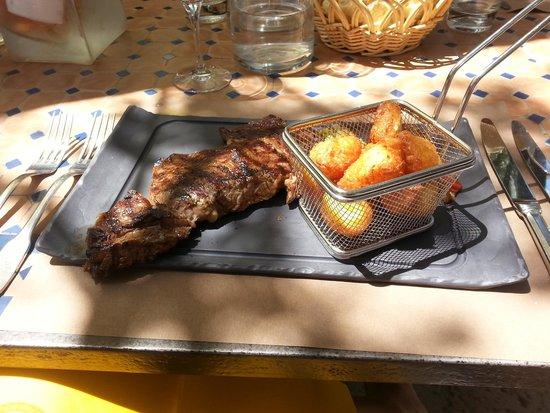 Le Verger des Papes: Entrecote com batatas dauphinoise