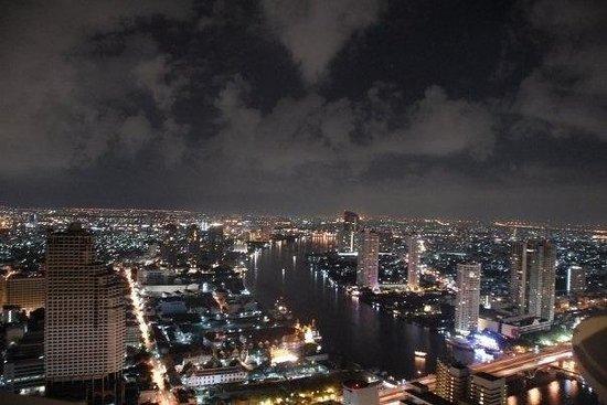 BKK dal 56esimo piano del Lebua at State Tower