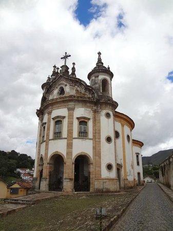 Our Lady of Rosario dos Pretos church : Fachada da Igreja Nossa Senhora do Rosário