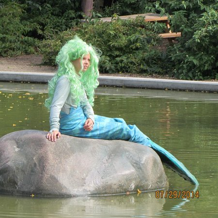 Hans Christian Andersen Museum : Hans Christian Anderson Grounds Mermaid