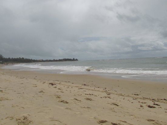 Praia Bonita Resort & Convention: VISTA DA PRAIA NA FRENTE DO HOTEL