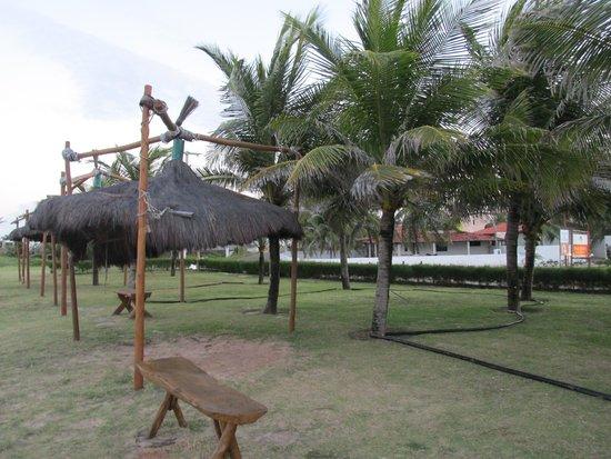 Praia Bonita Resort & Convention: PRACINHA NA FRENTE DO HOTEL