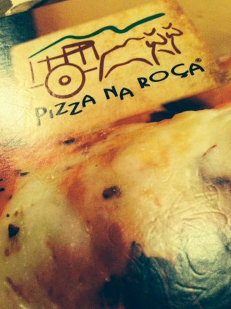 Pizza na Roca: Cardápio