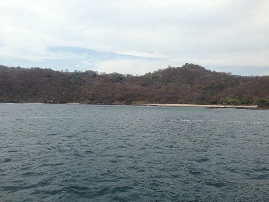 Pelican Eyes Resort and Spa : View from the sailboat