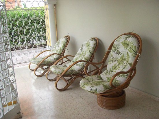 Hotel San Martin Cartagena: Vista al patio