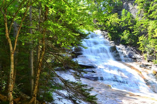 Crawford Notch State Park: Ripley Falls