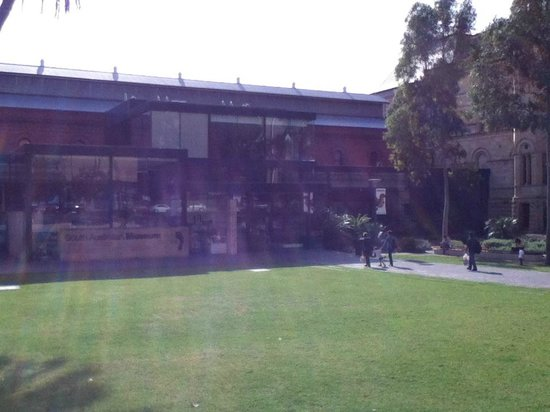 Front of the South Australian Museum