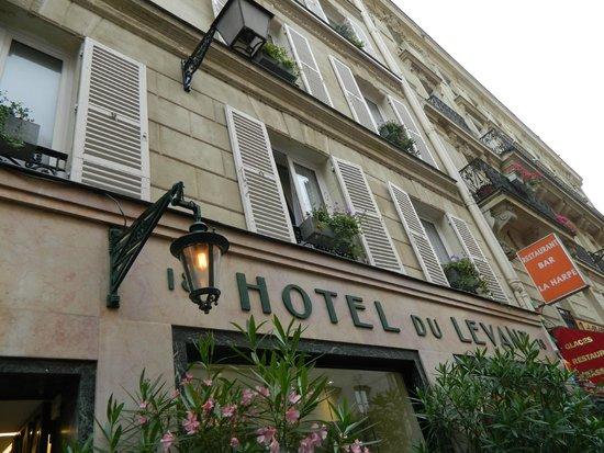 Hotel du Levant : fachada del hotel
