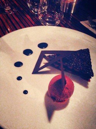 Restaurant Peron : Excellent dessert