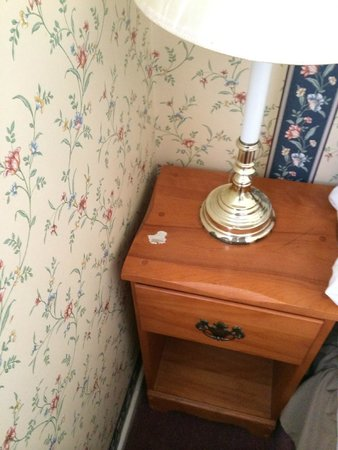 King George III Inn: Stained furniture