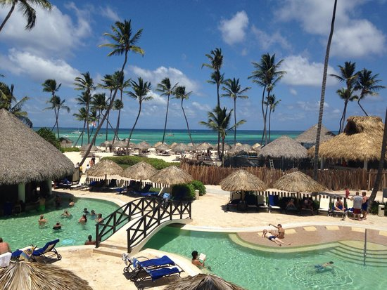 Now Larimar Punta Cana: The view from our balcony