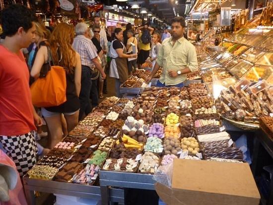 Mercat de la Boqueria : dolciumi