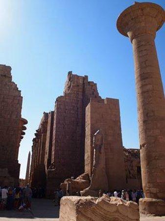 Temple of Karnak: 最長の柱