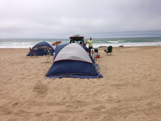 Oceano Dunes State Vehicular Recreation Area Camp Before It Got Crowded Mid Week