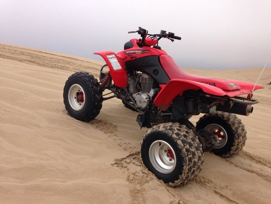 Arnie's ATV Rentals: sometimes you just have to get off and relax and take a photo of your vehicle