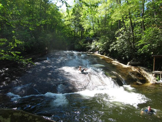 Pisgah National Forest: Sliding Rock