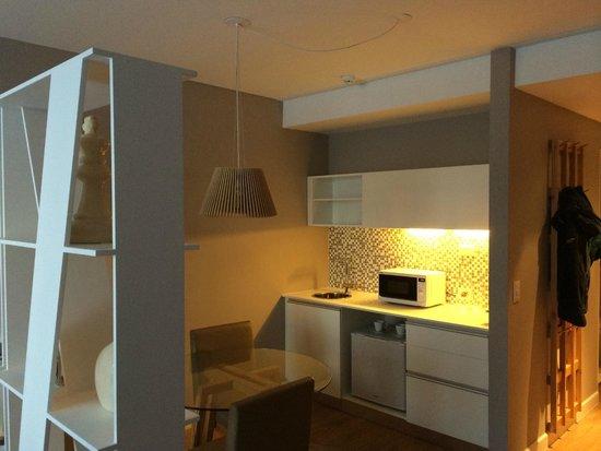 CasaSur Bellini Hotel: Kitchen