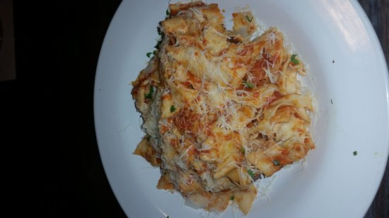"""Das Alpen Cafe : A must have if you're into Italian food. """"Tagliatelle Meatballs & Sausage""""."""