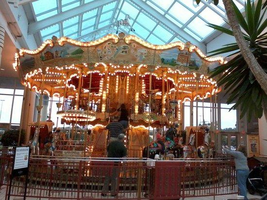 Eastview Mall: carousel