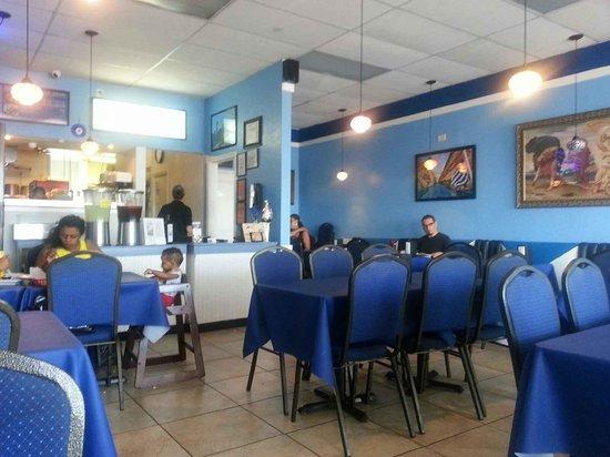 ZINO'S Greek Restaurant: atmosphere? where?