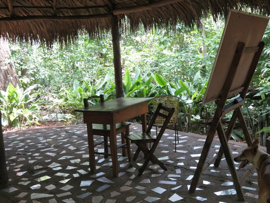 La Mariposa Spanish School and Eco Hotel: A classroom!