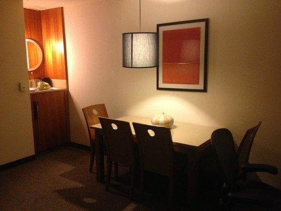 Le Parker Meridien New York: lots of living space!
