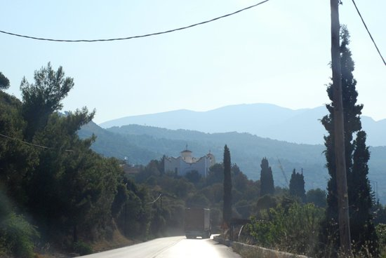 Samos City Hotel: road trips were a treat in themselves