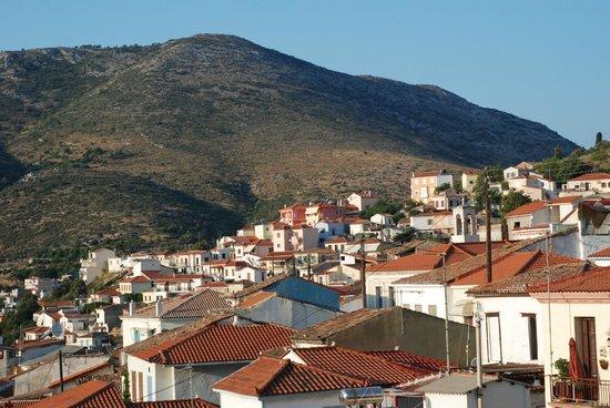 Samos City Hotel: Samos old town
