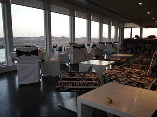 Movenpick Resort Aswan: 展望レストラン