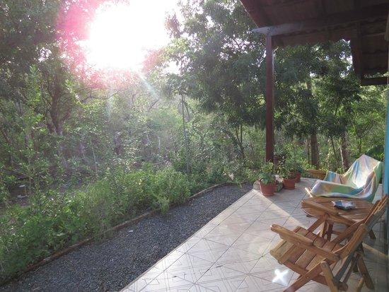 Rancho Cecilia Nicaragua: Love the porch!
