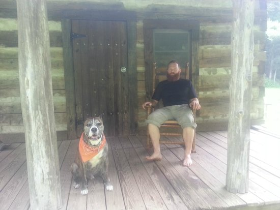 Charit Creek Lodge: On Site Manager & Four Legged Friend