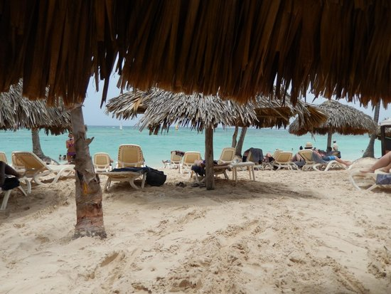 Majestic Colonial Punta Cana: View from hut!