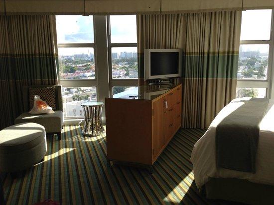 Loews Miami Beach Hotel: habitacion