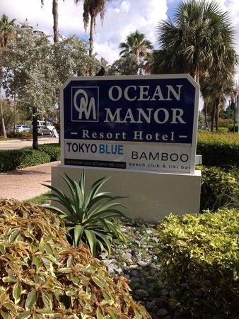 Ocean Manor Beach Resort Hotel : Love this place !! Beautiful beach & lots of hospitality are just a few wonderful things here!