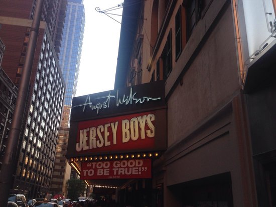 Jersey Boys: After a fantastic evening