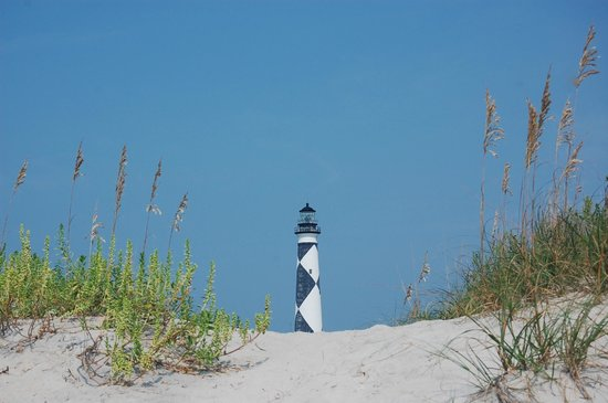 Seavisions Charters: Lighthouse from the beach