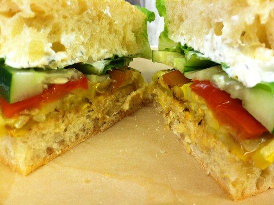 Mason Dixon: Veggie sandwich