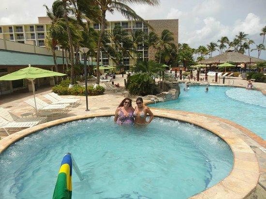 Holiday Inn Resort Aruba - Beach Resort & Casino : Jacuzzi