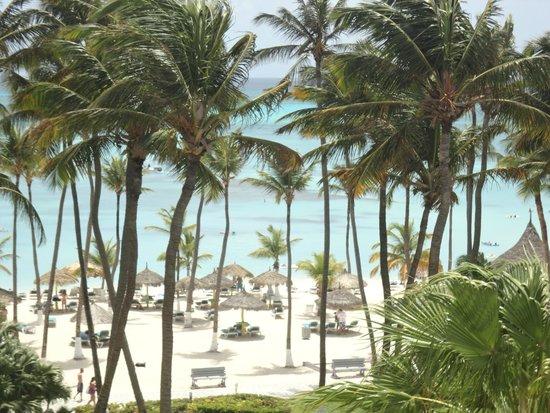 Holiday Inn Resort Aruba - Beach Resort & Casino: vista de nossa suite