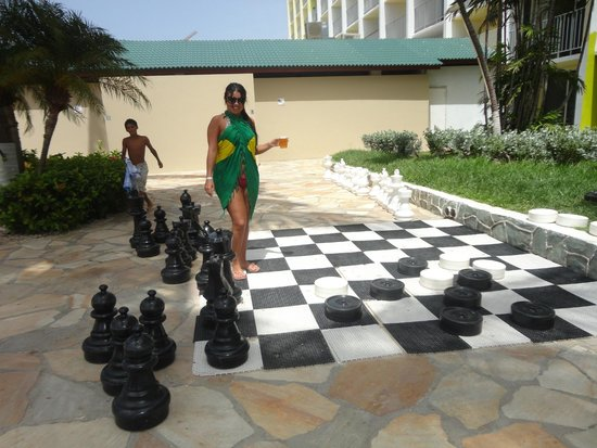 Holiday Inn Resort Aruba - Beach Resort & Casino: Jogo de xadrez
