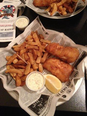 Brit and Chips: Veramente buono