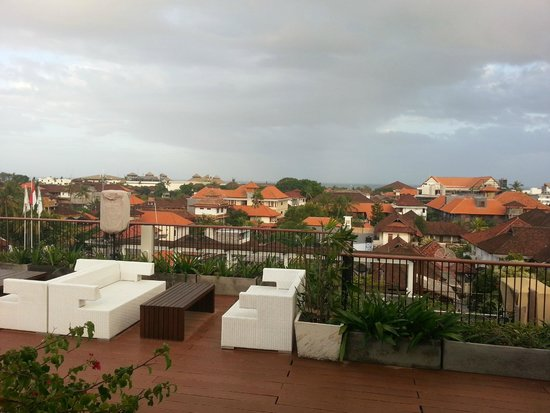 The ONE Legian: View from Restaurant