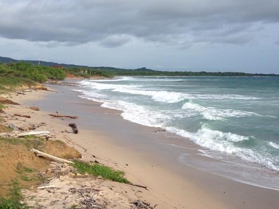 JW Marriott Guanacaste Resort & Spa: the ocean 10 min south of hotel....wow!