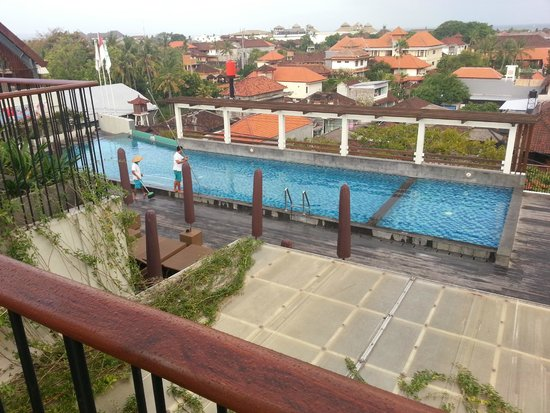 The ONE Legian: View from Upper Level