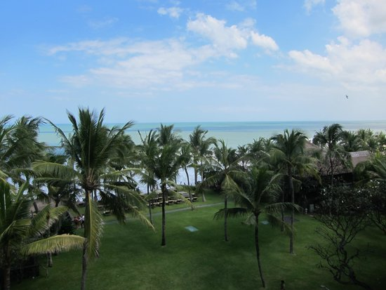 The Legian Bali: ocean view from the balcony